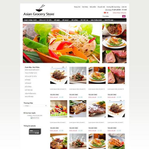 Website ẩm thực500402