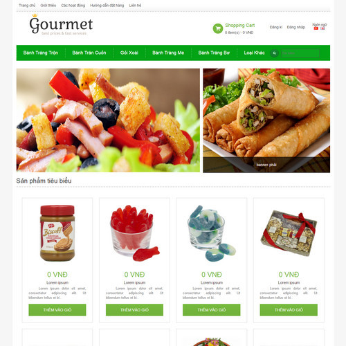 Website ẩm thực 500411