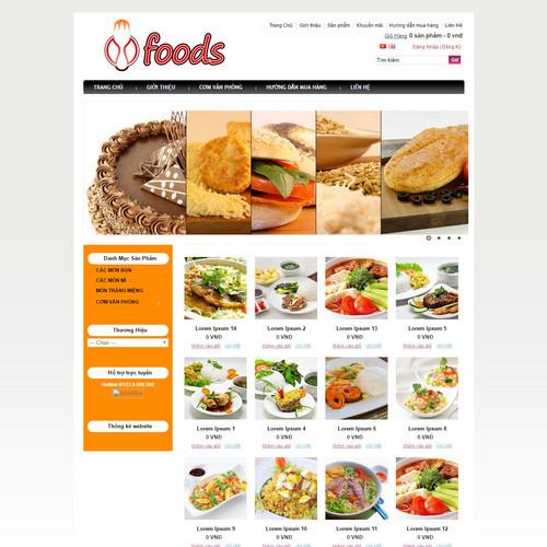 Website ẩm thực 500415