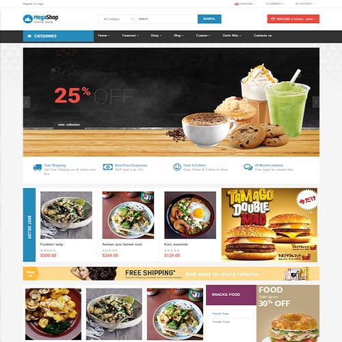 Thiết kế Website ẩm thực 0016
