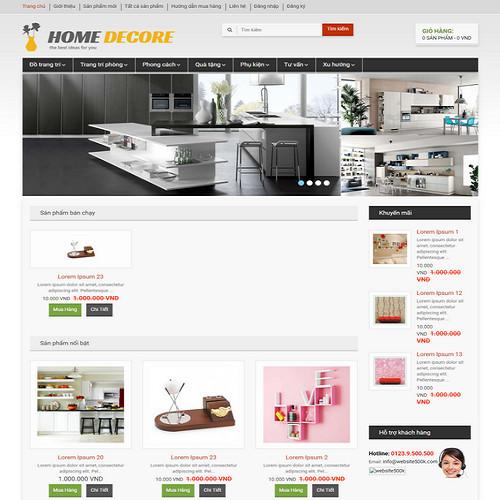 Thiết kế Website bán hàng 550504