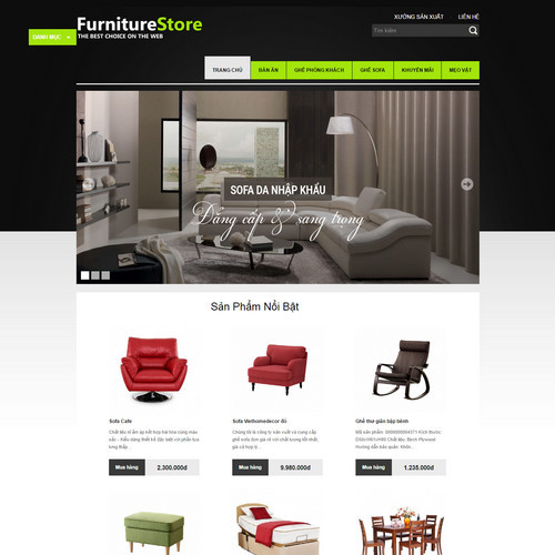 Thiết kế Website bán hàng 180525