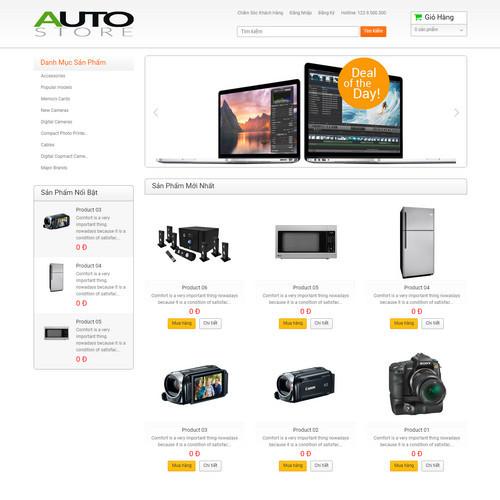 Thiết kế Website bán hàng 550526