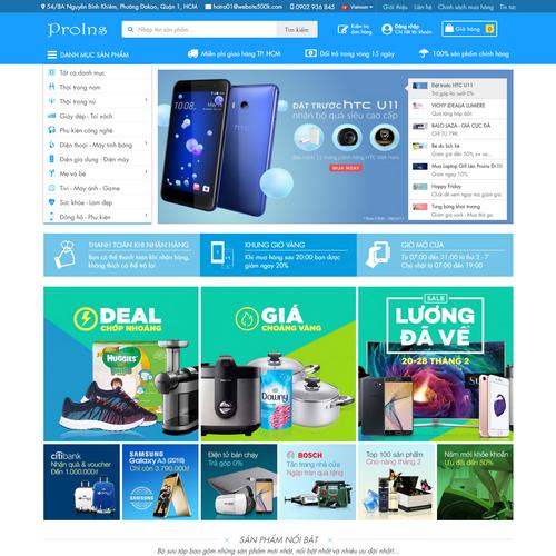 Website Bán Hàng Proins