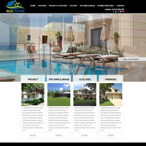 Thiết kế Website bất động sản 550504