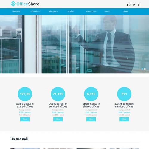 Thiết kế Website dịch vụ 550501