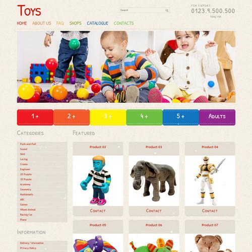 Thiết kế Website Mẹ và bé 550507