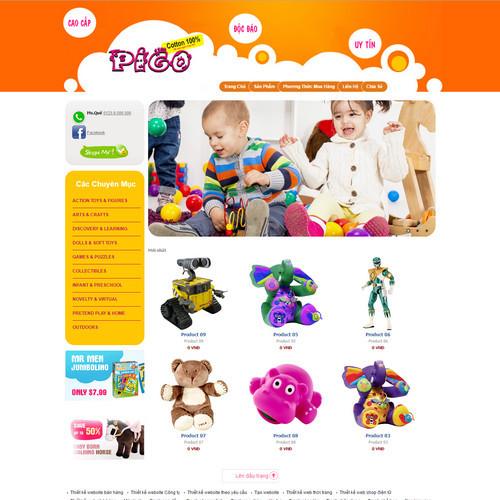 Thiết kế Website Mẹ và bé 550513