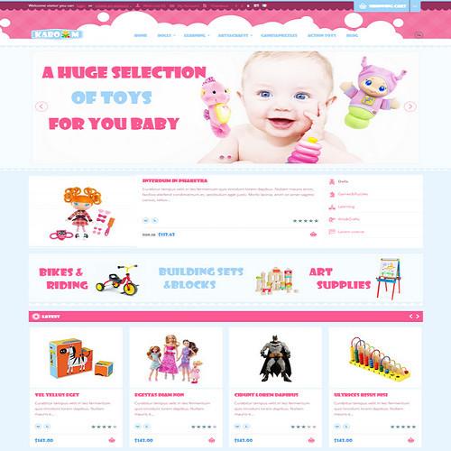 Thiết kế Website mẹ và bé 550516