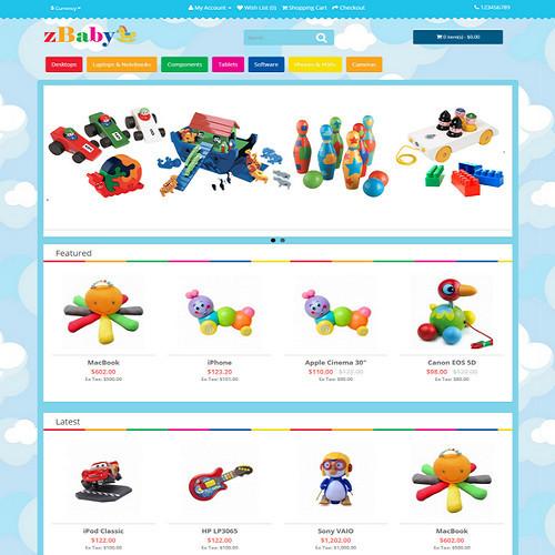 Thiết kế Website mẹ và bé 550518