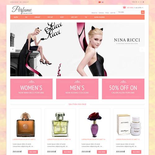 Thiết kế Website mỹ phẩm 550502