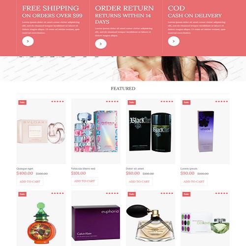 Thiết kế Website mỹ phẩm 550524